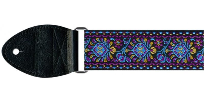 Souldier Guitar Strap Hendrix Turquoise GS0080BK02BK