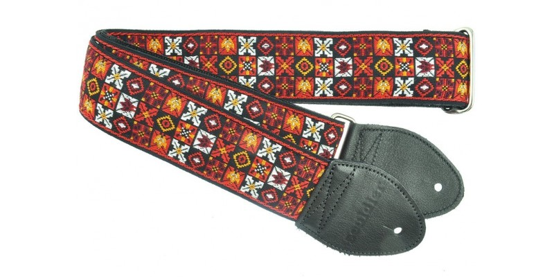 Souldier Woodstock Custom Guitar Strap Red