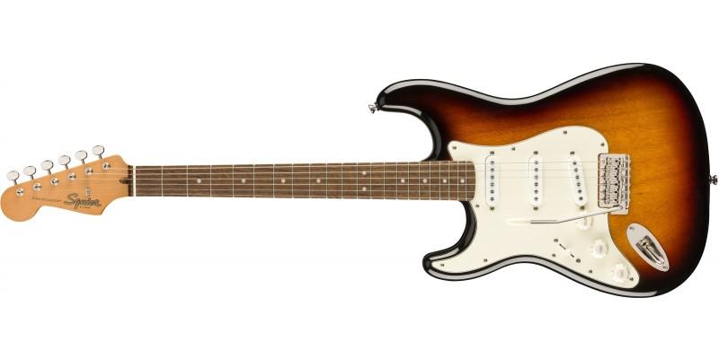 Squier Classic Vibe '60s Stratocaster Left Handed 3-Tone Sunburst Front