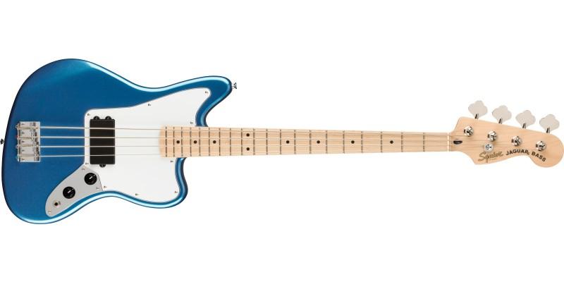 Squier Affinity Jaguar Bass H Lake Placid Blue Front