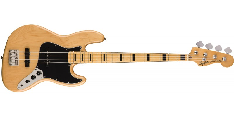 Squier Classic Vibe '70s Jazz Bass Natural Front