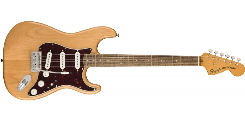 Squier Classic Vibe '70s Stratocaster Natural Front