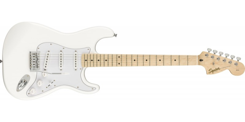 Squier FSR Affinity Stratocaster Olympic White Front