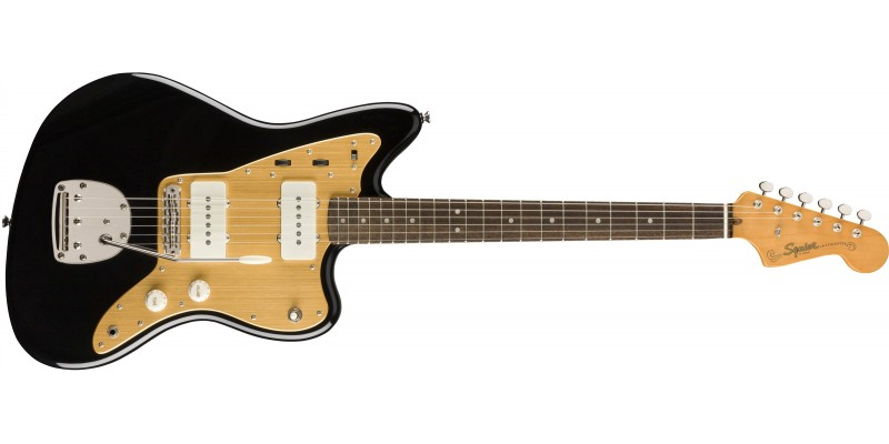 Squier Limited Edition Classic Vibe Anodised Jazzmaster Black Front