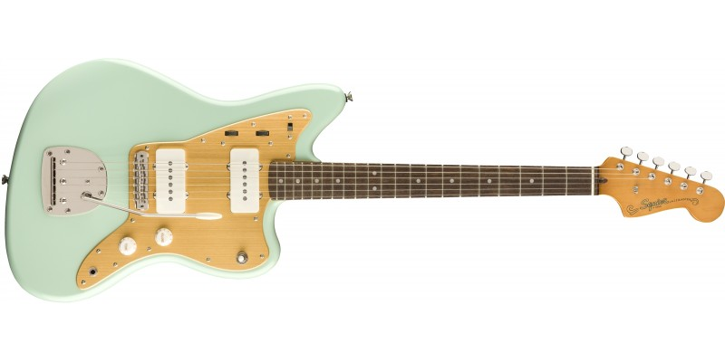 Squier Limited Edition Classic Vibe Anodised Jazzmaster Surf Green Front