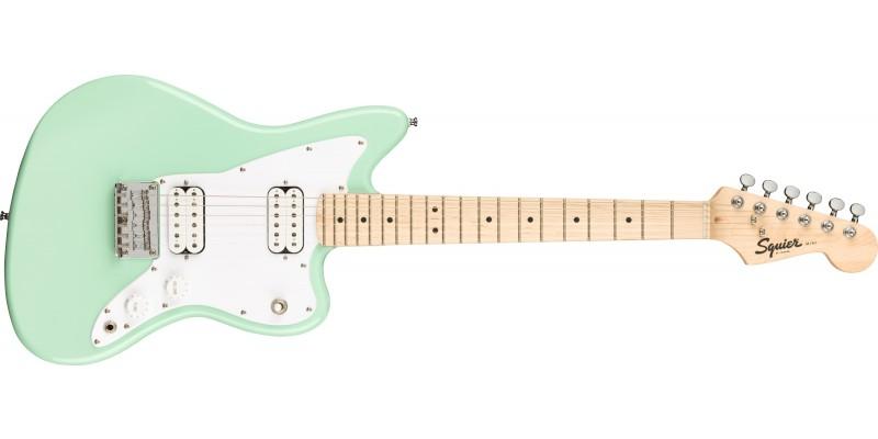 Squier Mini Jazzmaster HH Surf Green Front
