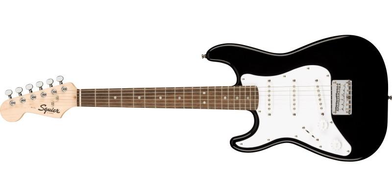Squier Mini Stratocaster Left-Handed Black Front