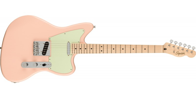 Squier Paranormal Offset Telecaster Shell Pink Front