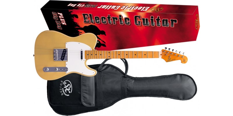 SX-STL50+-Electric-Guitar-Butter-Scotch-Blonde-Package
