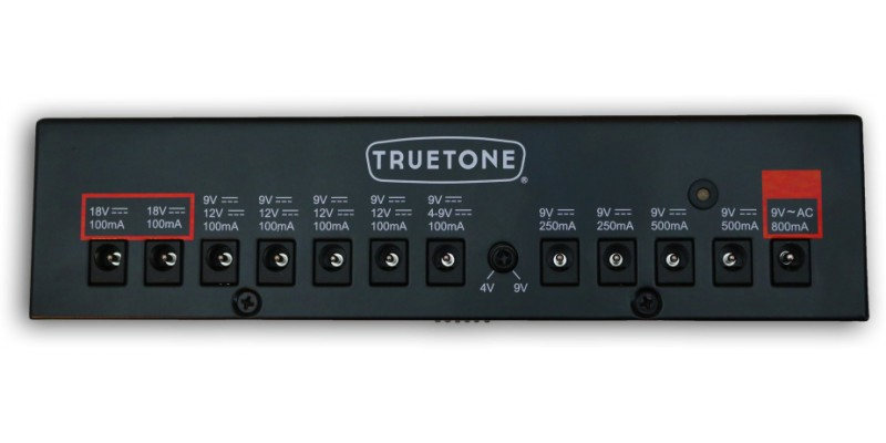 Truetone 1 Spot Pro TT-CS12 Guitar Bass Power