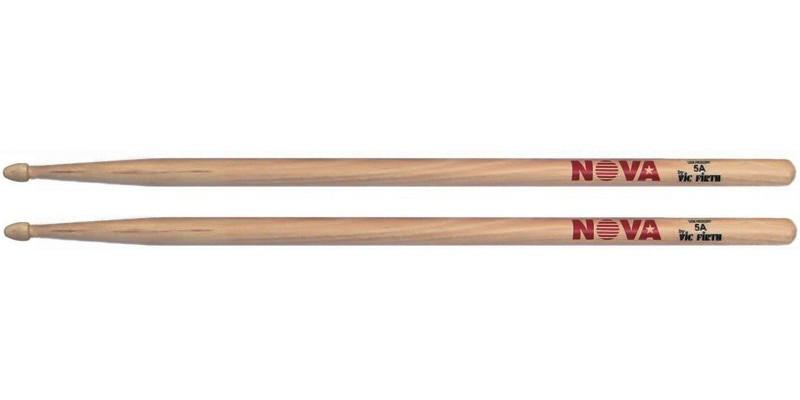 Vic Firth Nova 5A Drumsticks USA Hickory