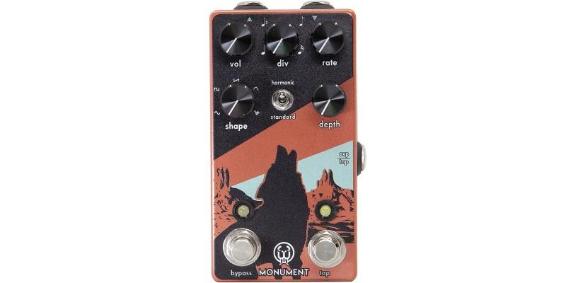 Walrus Audio Monument V2 Harmonic Tap Tremolo Pedal Front