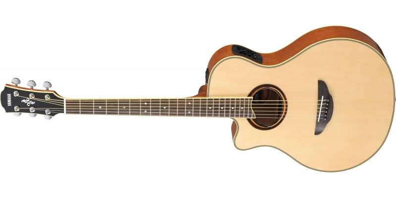 Yamaha APX700IIL Natural Left Handed Front