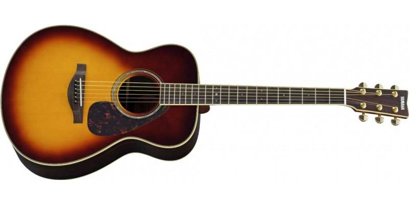 Yamaha LS6 ARE Brown Sunburst Acoustic Guitar