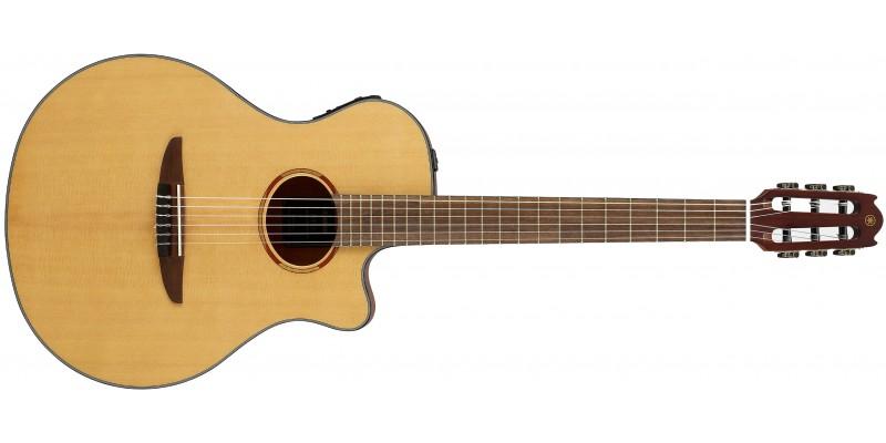 Yamaha NTX1 Natural Electro Nylon String Guitar Front