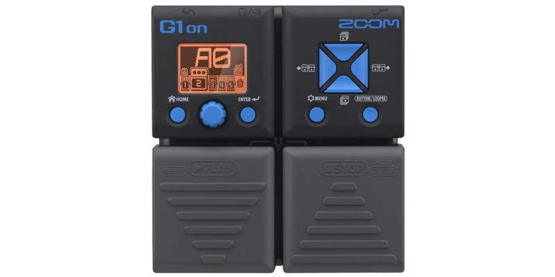 zoom g1on guitar effects processor merchant city music. Black Bedroom Furniture Sets. Home Design Ideas
