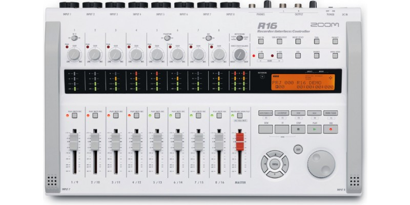 Zoom R16 Recorder Interface Controller