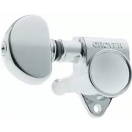 Grover Rotomatics 102-18C Chrome with 18:1 Gear Ratio