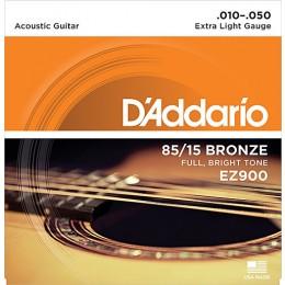 D'Addario EZ900 85/15 Bronze Acoustic Strings
