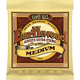 Ernie Ball Earthwood Medium 80/20 Bronze 13-56 Strings