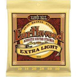 Ernie Ball Earthwood Extra Light 80/20 Bronze 10-50 Strings