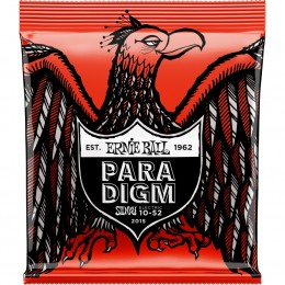 2015 Ernie Ball Paradigm Skinny Top Heavy Bottom Slinky Strings 10-52 Gauge Front