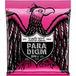 2023 Ernie Ball Paradigm Super Slinky Electric Guitar Strings 9-42 Gauge Front