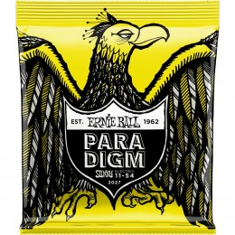 2027 Ernie Ball Paradigm Beefy Slinky Electric Guitar Strings 11-54 Gauge Front