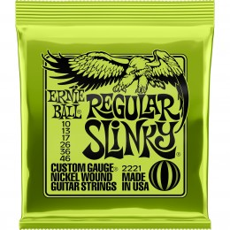 2221 Ernie Ball Regular Slinky Guitar Strings