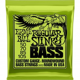 2832 Ernie Ball Regular Slinky Bass Strings Nickel Wound 50-105