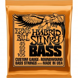 2833 Ernie Ball Hybrid Slinky Bass Strings Nickel Wound 45-105