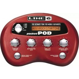 Line 6 Pocket POD Guitar Maulit Effects