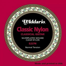 D'Addario EJ27N Student Nylon, Normal Tension Strings