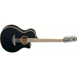 Yamaha APX700II-12 Black 12 string acoustic