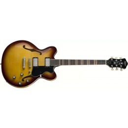 Hofner Verythin CT Antique Brown Sunburst