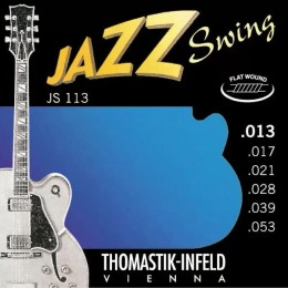Thomastik-Infeld JS113 Medium Flatwound Jazz Swing Strings