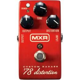 MXR M78 Custom Badass 78 Distortion Pedal