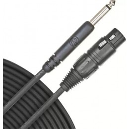 Planet Waves PW-CGMIC-25 Classic Series Unbalanced Microphone Cable, XLR-to-1/4-inch, 25 feet