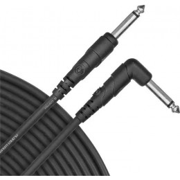 Planet Waves PW-CGTRA-20 Classic Series Instrument Cable, Right Angle Plug, 20 feet