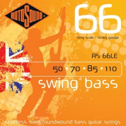 Rotosound RS66LE Swing Bass 66 4 String Set 50-110