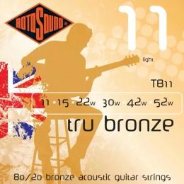 Rotosound TB11 Tru Bronze 11-52