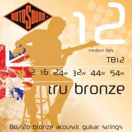 Rotosound TB12 Tru Bronze 12-54