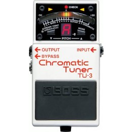 BOSS TU-3 Chromatic Tuner Pedal