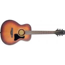 Adam Black O-3T Vintage Sunburst Travel Acoustic Guitar