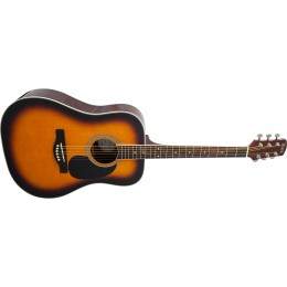 Adam Black S2 Brown Sunburst Acoustic Guitar