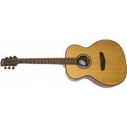 Adam Black O-3 Left Handed Acoustic Guitar Natural Front