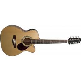 Adam Black O-5/12CE Natural 12 String Guitar Front