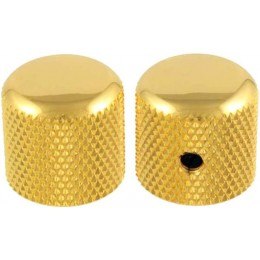 Allparts MK-0910-002 Gold Dome Guitar Control Knobs
