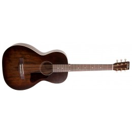 Art & Lutherie Roadhouse Bourbon Burst Parlour Guitar