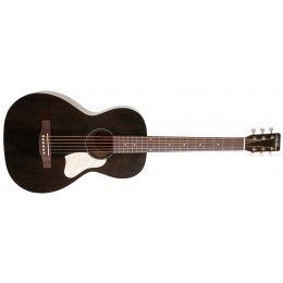 Art & Lutherie Roadhouse Faded Black Parlour Guitar
